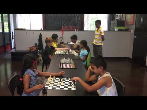 Avi holding chess tournament at Johnson's Tiger Rock Cary