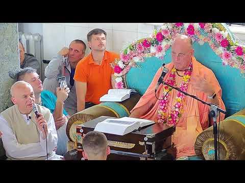 Шримад Бхагаватам 1.1.22 - Индрадьюмна Свами