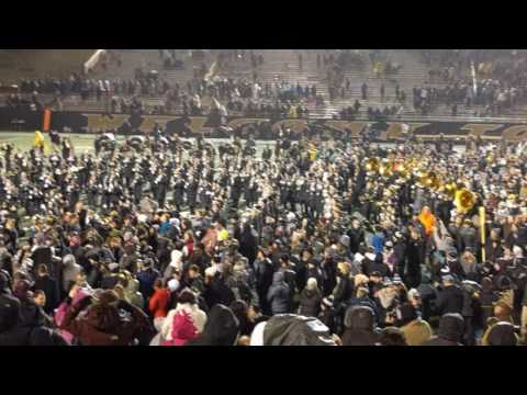 Western Michigan Football post game fight song 12-0 11/25/16