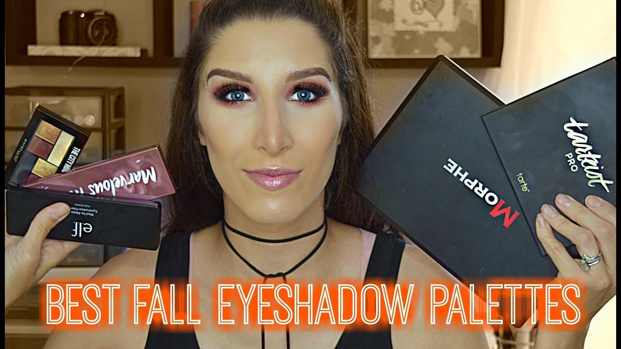 5 Best Fall Eyeshadow Palettes High End Drugstore