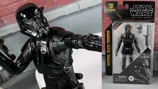 Star Wars Black Series Archive Imperial Death Trooper Action Figure Review