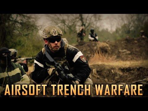 Airsoft Trench Warfare - D14 Texas Trip Highlights - Airsoft GI