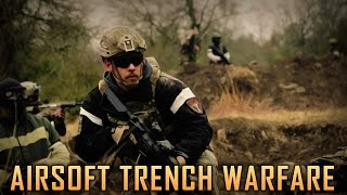 Airsoft Trench Warfare - D14 Texas Trip Highlights - Airsoft GI