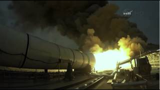 Huge NASA SLS Booster Put To Fire In Promontory, UT | Video