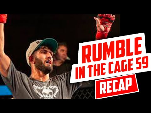 Rumble in the Cage 59 Recap