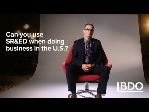 Can You Use SR&ED When Doing Business in the U.S.? | BDO Canada