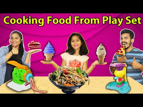 Pari Cooking Snacks With Play Set | Ice cream,Burger,Pasta,Noodles
