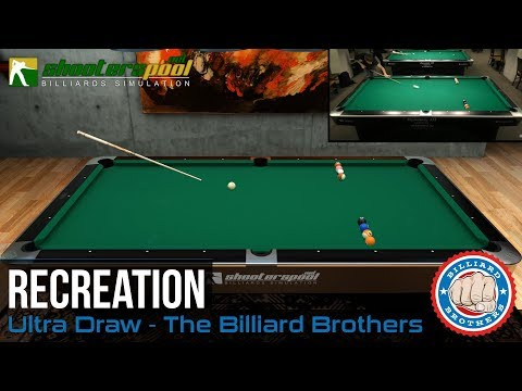 The Billiard Brothers Ultra Draw by Duda - Recreation on ShootersPool Billiards Simulation
