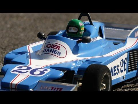 RC Racing legend  Ligier Matra JS9 Jacques Laffite 1978 from Tamiya