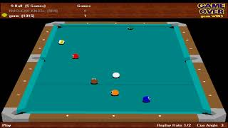 virtual pool 2: the sequel, the first