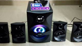 F&D F3800X 5.1 multimedia speaker system unboxing and quick review