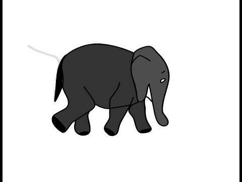 How To Draw An Elephant Painting Coloring Pages Learn Color