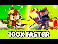 Gambar cover Bloons TD 6 Speedrun But 100X Times Faster