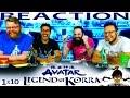 Legend of Korra 1x10 REACTION!!