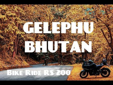 GELEPHU  BHUTAN ||  SUNDAY OUTING || BIKE RIDE RS200