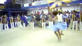 Lucinha Nobre e Rogerinho - Unidos da Tijuca 2009 - Ensaio