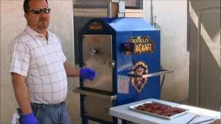 Smoking Skinless Chicken Breasts On The Pitmaster Bbq Safe (03-24-13)