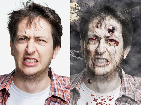 Cómo hacer maquillaje zombie: 21 pasos (con fotos)