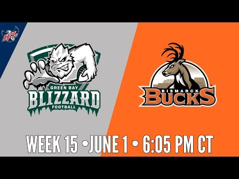 IFL Week 15 | Green Bay Blizzard at Bismarck Bucks
