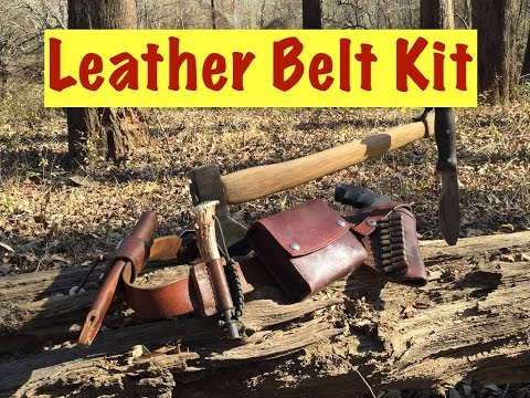 Leather Belt Kit New Gear And Old