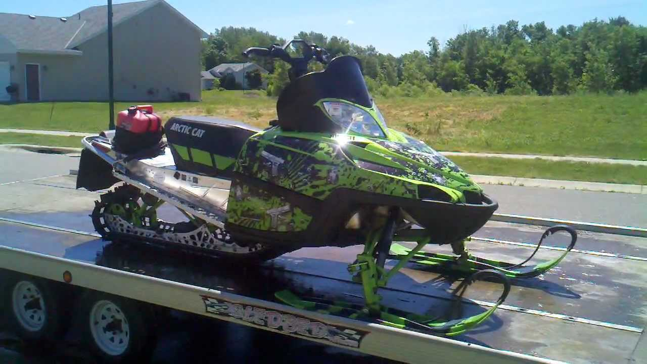 Cold Spring Mn >> 2011 Crossfire 800HO LE Arctic Cat - YouTube