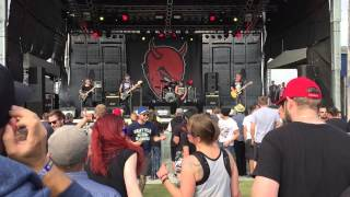 Satanic Surfers - Hero Of Our Time live 27.06.2015
