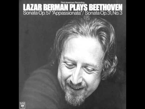 "LAZAR BERMAN plays BEETHOVEN Sonata No 23 ""Appassionata"" (1976)"