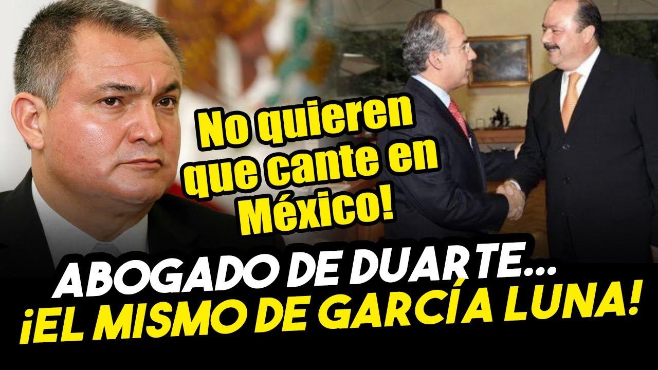 Ya no sabe que hacer Felipe! César Duarte usa al mismo abogado que García Luna