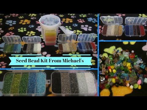 Seed Bead Kit From Michael's
