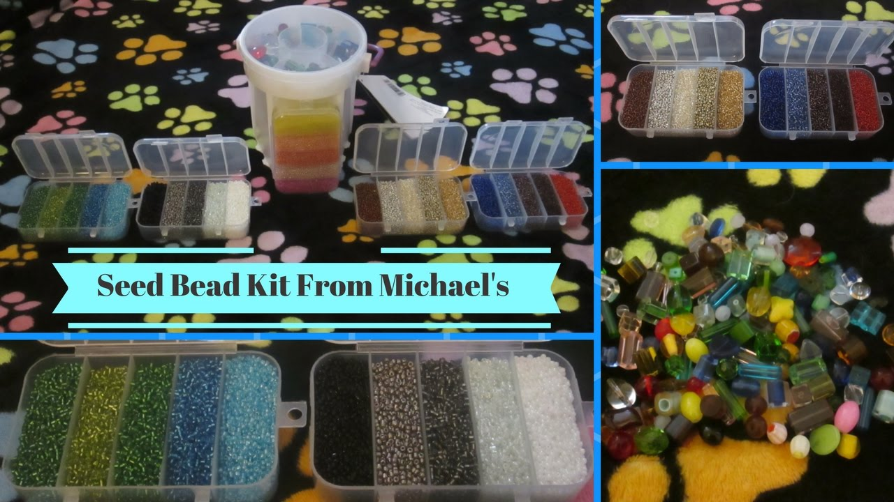 Seed Bead Kit From Michael\'s - YouTube
