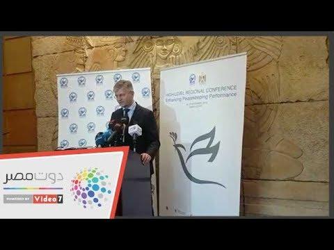 مسئول بالأمم المتحدة يشيد بقوات حفظ السلام المصرية  - 12:54-2018 / 11 / 18