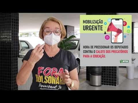 Consuelo Correia detalha quais os riscos da PEC do Calote para trabalhadores/as da educação