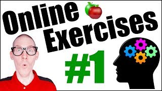 🍎 Online Exercises #1 | Improve Your English | LIVE English Lesson