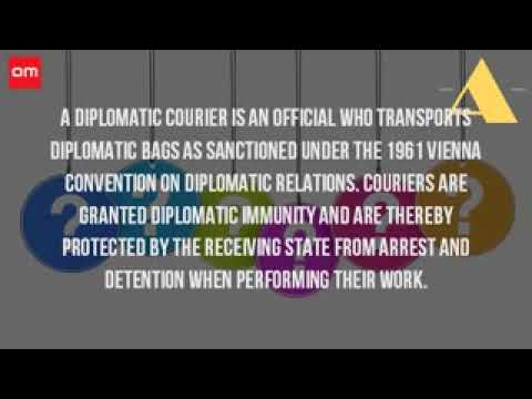 What Is A Diplomatic Courier Service?