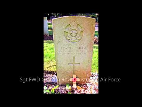 WWII Commonwealth War Graves Andover UK