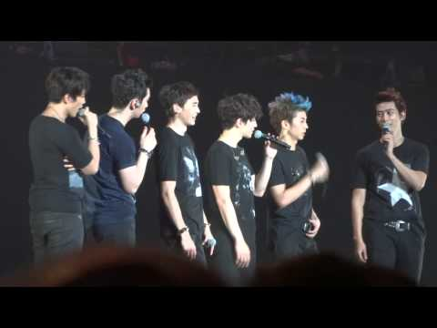 All Members of 2PM Danced Sexy Lady & Taecyeon Sang It's Time Cut What Time Is It Concert Jakarta