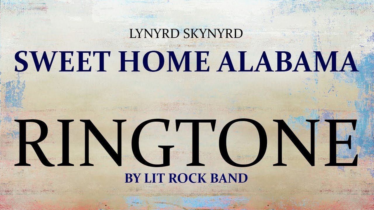 sweet home alabama intro ringtone