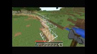 Minecraft za oknem #02 - Budowa półkuli kopuły koła okregu