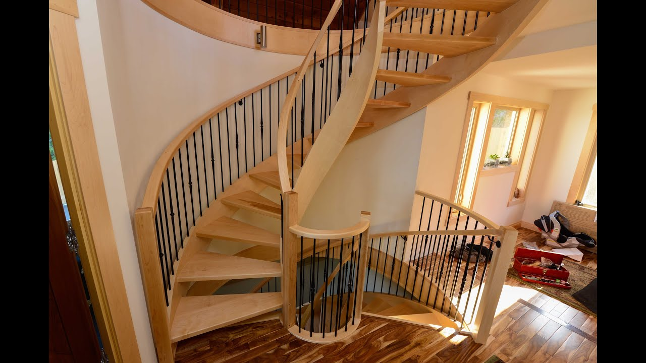 Botched Spiral Staircase, Bad Carpenters, Rant   YouTube