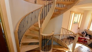 Botched Spiral Staircase, Bad Carpenters, Rant