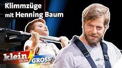 Pull Up Challenge: 9-Jähriger vs. Henning Baum! | Klein gegen Groß