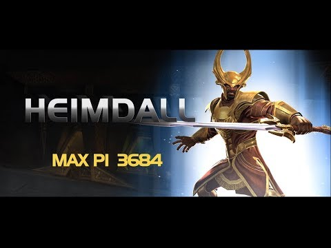 Heimdall Special Moves | Marvel Contest of Champions