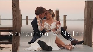 Samantha + Nolan Wedding Video | Lake Wales, Florida