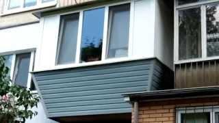 Остекление балкона в хрущевке киев(, 2014-06-12T13:39:10.000Z)