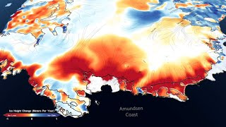 NASA Mission Maps 16 Years of Ice Loss