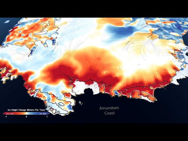 Mapas De La Nasa Muestran 16 Años De Deshielo En Los Glaciares De La Antártida Y Groenlandia Video Rt