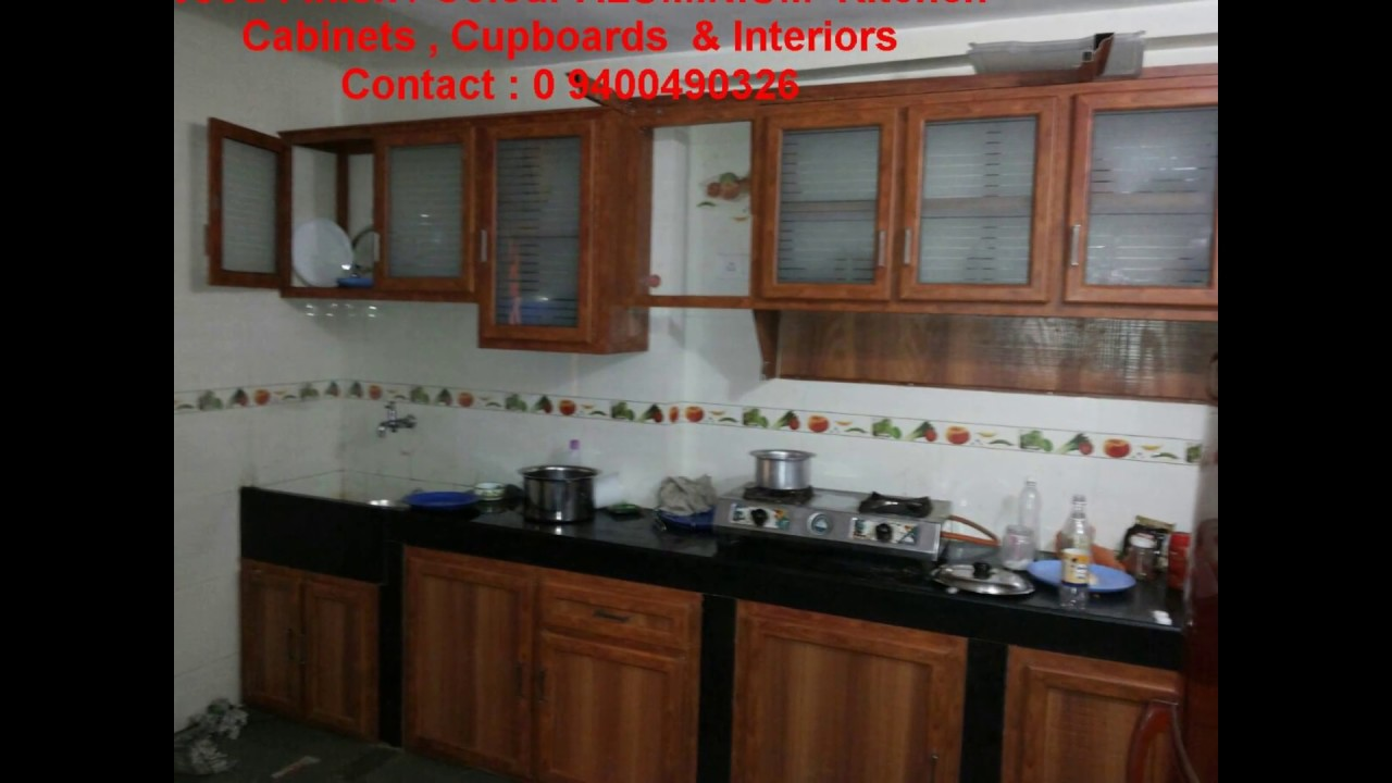 kitchen cabinets kerala price low cost aluminium kitchens amp interiors half price 6170