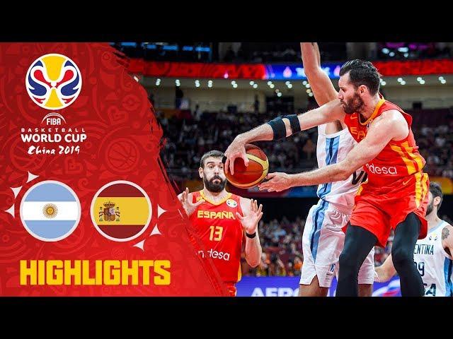 Argentina v Spain - Highlights - Final - FIBA Basketball World Cup 2019