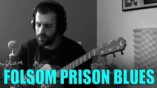 Johnny Cash Folsom Prison Blues  Dustin Prinz cover song Video Live