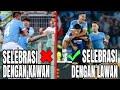 Momen Felipe Luiz selebrasi dengan pemain lawan - Lazio vs Inter Milan 3-1